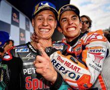 Musim Ini Sih Kalah, Fabio Quartararo Siap Tantang Marc Marquez di Perebutan Juara Dunia MotoGP Musim Depan