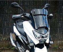 Tampang Baru Yamaha NMAX Terlihat Beda, Windshield Warna-warni Kuncinya