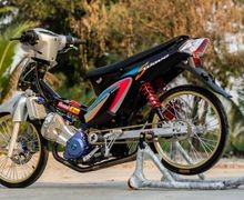 Bengis! Honda Supra  Bermesin CBR150 Bore Up dan Stroke Up Pula