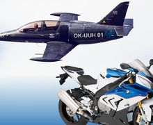 Ini Bukan Modifikasi Ekstrim, Pesawat Bermesin Motor BMW S1000RR