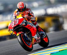 Hasil Kualifikasi MotoGP Prancis 2019, Marc Marquez Perkasa di Trek Licin