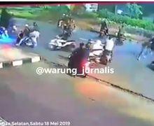 Biadab! Video Kekejaman Geng Motor Tusuk Peserta Sahur On The Road Sampe Tewas