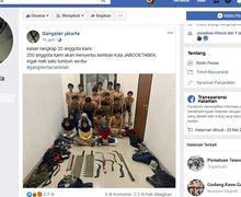 Dua Ratus Gengster Berani Mati Ancam Polisi Akan Serbu Jabodetabek