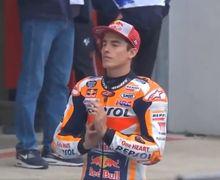 Video Ritual Kesaktian Marc Marquez di MotoGP Prancis 2019, Ampuh Langsung Pole Position
