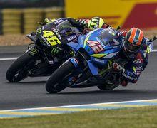 Kocak, Alex Rins Minta Restu Rossi Jadi Mr Sunday di MotoGP Prancis
