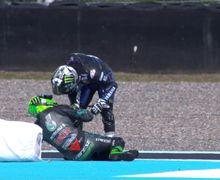 Insiden Sama Murid Valentino Rossi di MotoGP Prancis, Maverick Vinales Salahkan ini