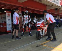Siap Hadapi Ronde Italia, Video Feeling Dimas Ekky Makin Oke Kelar Tes Moto2 Catalunya