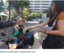 Wulan Guritno Beri Uang Segepok Ditolak Driver Ojek Online Wanita