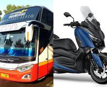 Gokil, Luasnya Bagasi Bus Super High Deck, Muat XMAX dan Moge