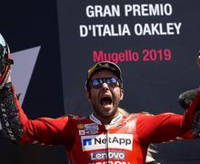 Gak Disangka! Jawara MotoGP Italia 2019, Danilo Petrucci, Ternyata Polisi Beneran