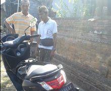 Yamaha NMAX Misterius Ditinggal Kabur Pemilik, Teras Rumah Warga di Bali Jadi Korban