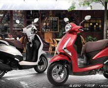 Yamaha Latte Adiknya NMAX Desain Klasik Futuristik Headlamp Seperti Honda PCX Cuma Rp 23 Jutaan