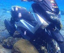 Sayang Banget, Yamaha NMAX dan Ninja 250 Sengaja Direndam, Cuma Jadi Objek Foto-foto