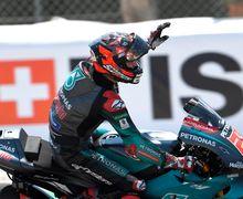 Video Fabio Quartararo Tahan Rasa Sakit di MotoGP Belanda 2019, Bos Dorna Sampai Salut