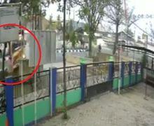 Ngilu! Video Detik-detik Pemotor Pindah Jalur Dihantam Truk dari Belakang Sampai Terguling