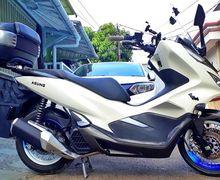 Honda PCX Pakai Knalpot Custom Ninja 250 FI Makin Gahar Suara Adem Tarikan Lebih Terasa