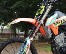 Keren! Penampakan Motor Trail 150 cc Suzuki, Basisnya Dari GSX-R150