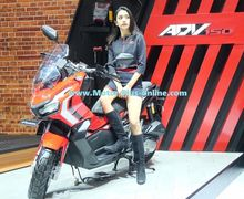 Makin Terang, Honda X-ADV 150 Mulai Terlihat di Booth Honda, Ada 3 Pilihan Warna Mewah