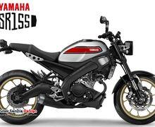 Motor Klasik Yamaha XSR155 Bermesin MT-15 Dikabarkan Dirilis 16 Agustus Besok