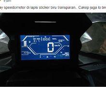 Ramai Pemasangan Stiker Transparan di Speedometer Skutik Adventure Honda ADV 150, Begini Penjelasan Pihak AHM