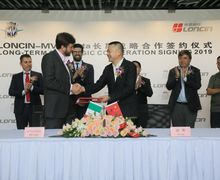 MV Agusta Akan Bikin Motor Kapasitas Mesin Kecil, Pabriknya Di Loncin Cina