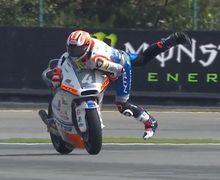 Bikin Jantung Copot, Video Banyak Pembalap MotoGP Terjatuh di Kualifikasi MotoGP Ceko 2019