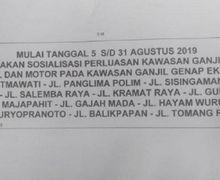 Waduh, Beredar Informasi Ganjil Genap Untuk Motor di Jakarta
