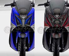 Selain Video Skutik Yamaha NMAX Megatron, Ada Juga Nih Yamaha NMAX Optimus, Desain Lampu Tajam dan Futuristik
