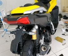 Keren, Skutik Adventure Honda ADV150 Jadi Lebih Kekar Pasang Tail Tidy