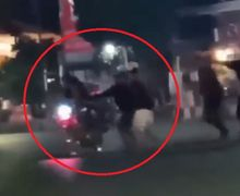 Probolinggo Mencekam, Video Pemotor Geber Knalpot Brong Diserang Warga Saat Konvoi