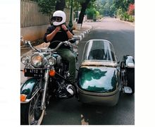Keren dan Antik Motor Presiden Soeharto Dinaiki Anak Tommy Soeharto