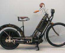 Mirip Sepeda, J.C Potter Motor Unik Bermesin Sangar yang Sempat Beredar di Indonesia Sebelum Era Kemerdekaan