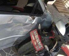 Nguter Geger, Yamaha R15 Dikira Ghost Rider, Berhenti Setelah Tabrak Mobil dan Kantor Kecamatan