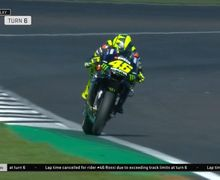 Gara-Gara Ini, Waktu Valentino Rossi di FP2 MotoGP Inggris Dibatalkan