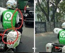 Salut, Walau Fisik Terbatas Driver Ojol Ini Sabar Mencari Penumpang, Netizen Malah Kebingungan