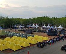 Waduh, Ada Apa Nih Kiram Park, Kalsel, Mendadak Diserbu Ribuan Bikers Yamaha?