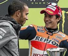 Berani Banget, Marc Marquez Tantang Lewis Hamilton Untuk Balap F1 dan MotoGP