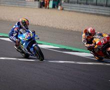 Sengit Abis, Video Duel Rins Lawan Marquez Jelang Finis MotoGP Inggris 2019, Dari Motor Masing-masing