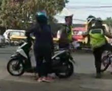 Diproses Propam Begini Kronologi dan Alasan Polisi Tendang Yamaha RX-King Sampe Terpental