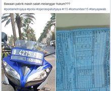 Geger Yamaha R15 Ditilang Polisi Gara-gara Lampu Depan, Kasubdit Gakkum Ditlantas Polda Metro Jaya Angkat Bicara