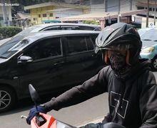 Video Pemotor Koplak Terobos Trotoar Hampir Tabrak Anak Kecil, Diajak ke Kantor Polisi Malah Kabur