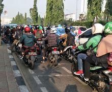 Waspada, Pemotor Yang Masuk Jalur Sepeda Akan Ditilang, Dendanya Bisa Bikin Bokek