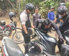 Warga Gak Berkutik, Tim Cobra Gelar Operasi Motor Bodong Door to Door, 1 Pistol dan 10 Motor Disita