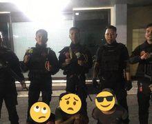Mencekam, Tiga Bocah Dibawah Umur Naik Motor Bawa Busur Kabur Tabrak Motor Patroli Polisi