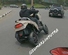 Motor Baru, Setelah Yamaha Tricity Kini Muncul Quadro Beroda 4 Tertangkap Basah Sedang Dites di Karawang