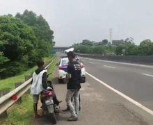 Ternyata Ini Biang Kerok Seringnya Pemotor Nyelonong Masuk Jalan Tol, Bahaya Banget