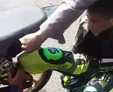 Aneh Tapi Nyata, Insiden Kaki Pembalap Masuk ke Dalam Ban, Kru Mekanik Sampai Kebingungan