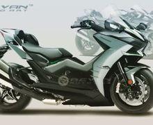 Tampang Sangar dan Punya Bodi Gambot, Matik Kawasaki ini Berani Lawan Yamaha NMAX dan Honda PCX