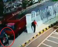 Tragis! Video Detik-detik Driver Ojol Dihajar Truk Usai Turunkan Penumpang, Korban Akhirnya Tewas