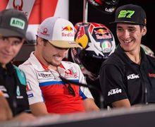 Jadi Pembalap MotoGP Termuda, Dapat Nasihat Langsung Dari Juara Dunia